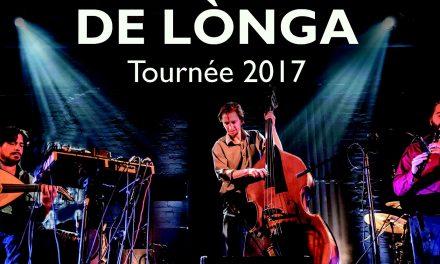 6 à 8 avec De Longa le 6 octobre au CRAPO